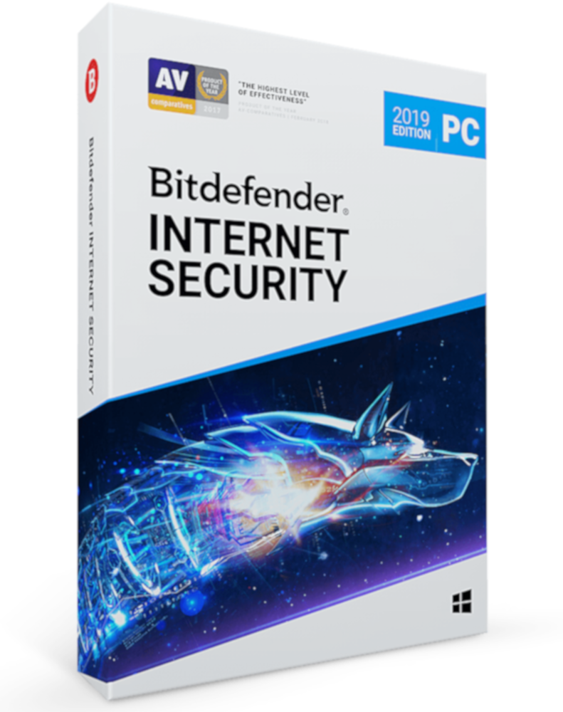 Bitdefender Internet Security 2019 (1-PC 1 jaar)