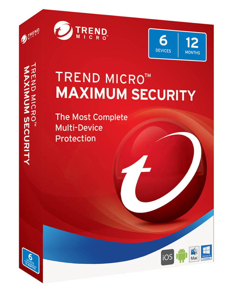 Trend Micro Maximum Security (3-PC 2 jaar)