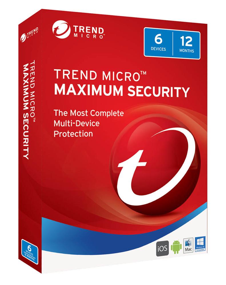 Trend Micro Maximum Security (5-PC 1 jaar)