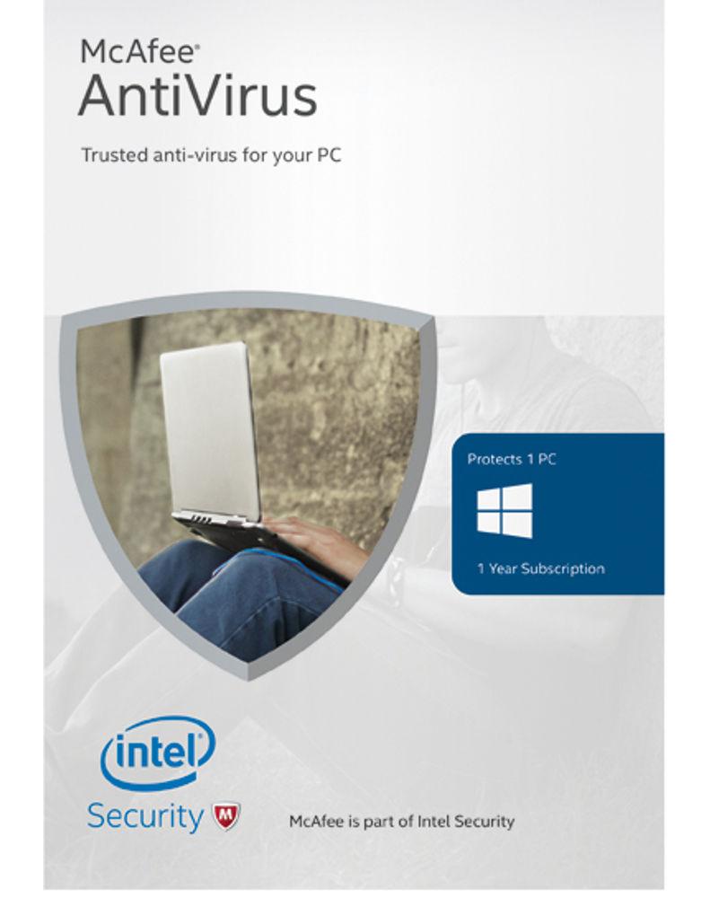 McAfee Antivirus (1 jaar - 1 PC)