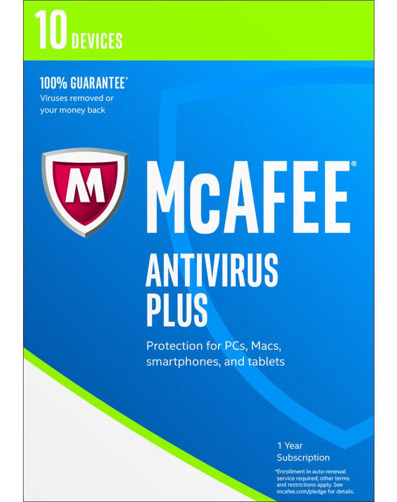 McAfee Antivirus Plus (1 jaar - 3 apparaten)