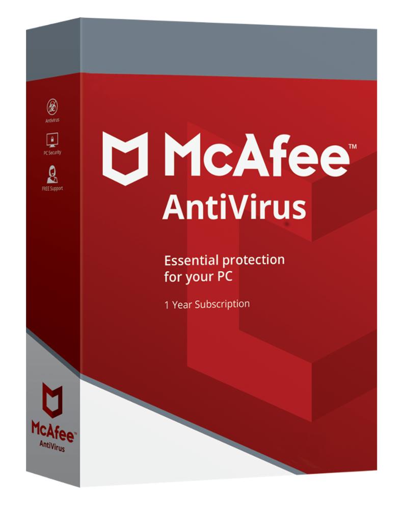 McAfee Antivirus (1 PC - 1 jaar)