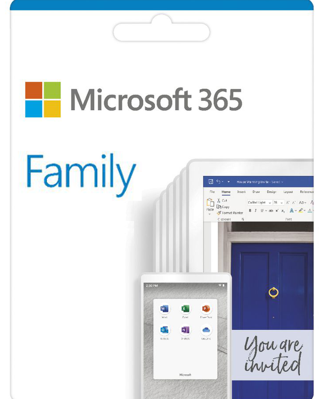 Microsoft 365 Family (oude naam: Office 365 Home Premium)