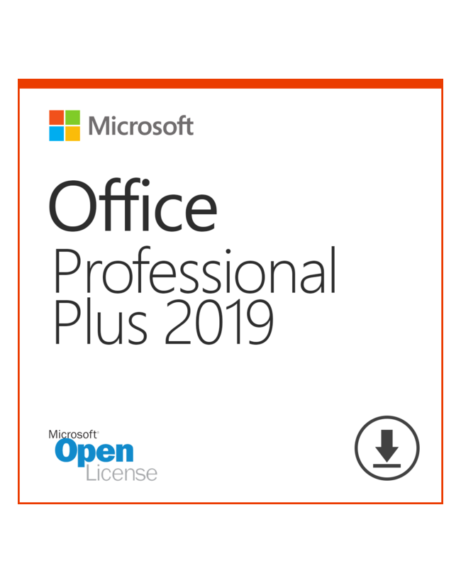 Microsoft Office 2019 Professional Plus OLP - License + Software Assurance