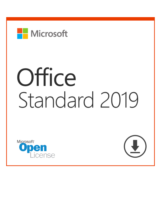 Microsoft Office 2019 Standard OLP - License + Software Assurance