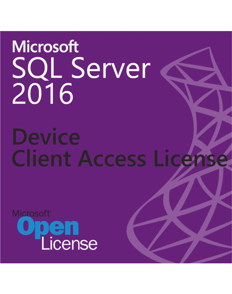 Microsoft SQL Server 2016 - Device Client Access License (1 Device CAL) OLP