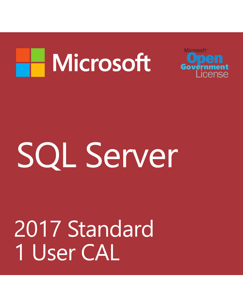 Microsoft SQL User CAL (License + SA)