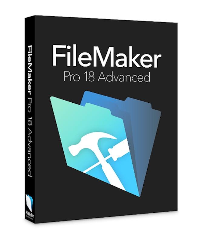 FileMaker Pro 18 Advanced (Onderwijs / Non-Profit licentie*)