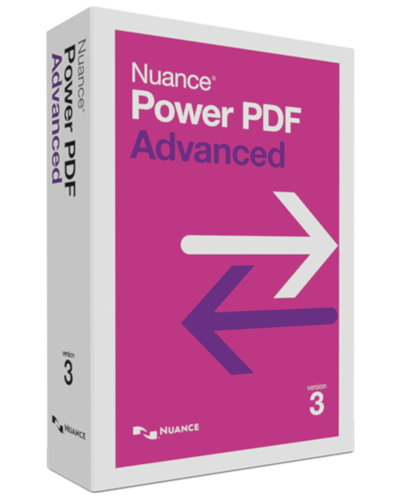 Nuance Power PDF Advanced Versie 3