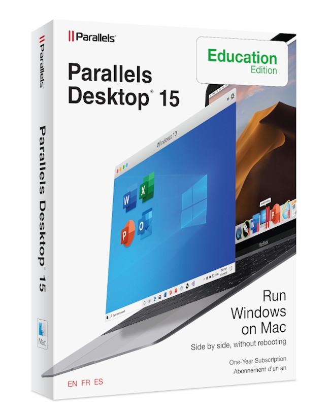 Parallels Desktop 15 voor Mac Academisch (1-Jarig Abonnement)