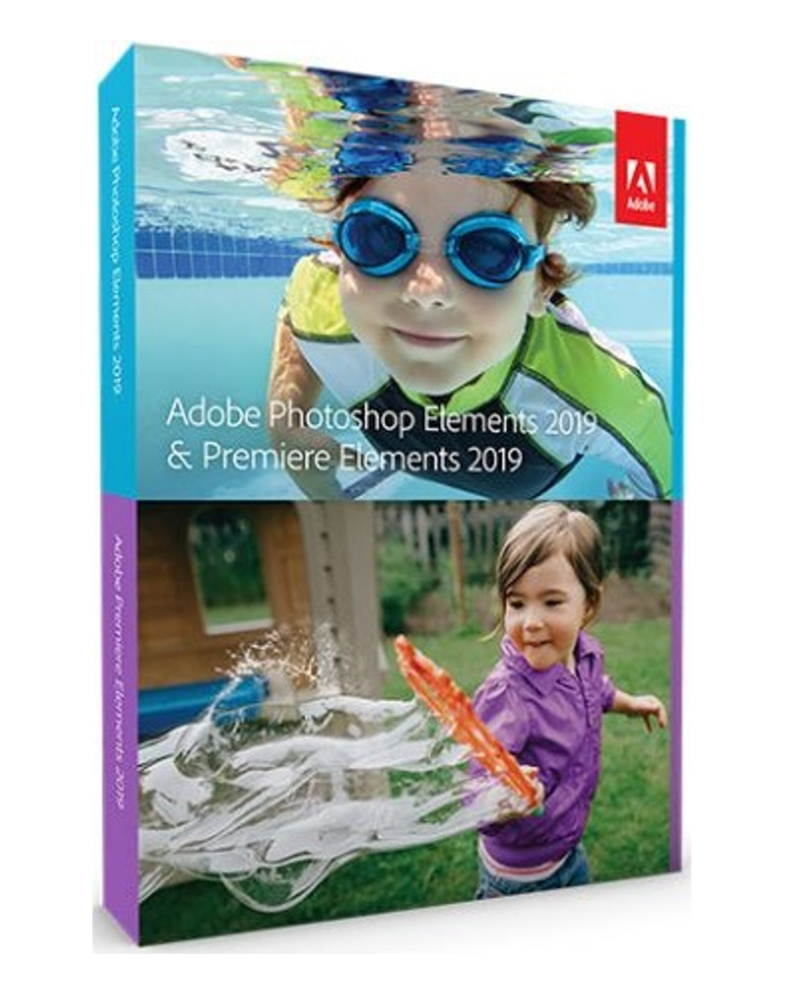 Photoshop & Premiere Elements 2019 voor Studenten en Docenten*