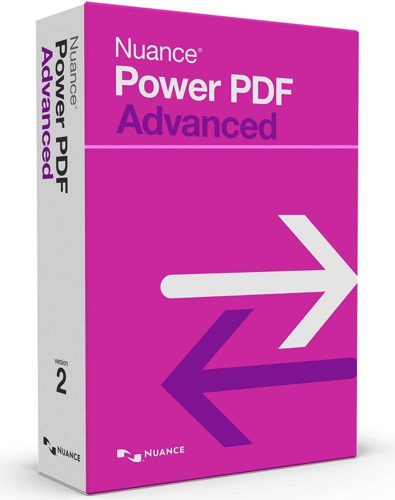 Nuance Power PDF Advanced Versie 2