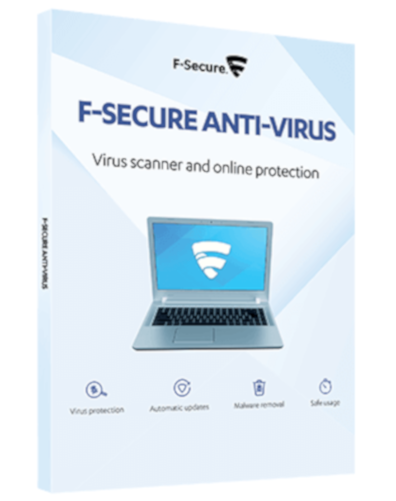F-Secure Anti-Virus (3-PC 1 jaar)