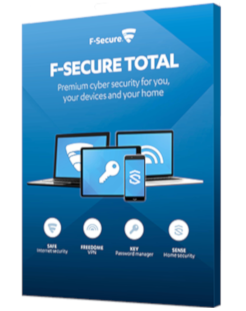 F-Secure Total (3-Devices 1 jaar)