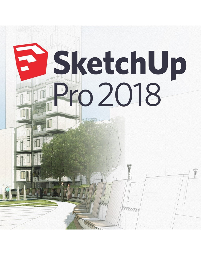 SketchUp Pro 2018 - Annual Private Server License