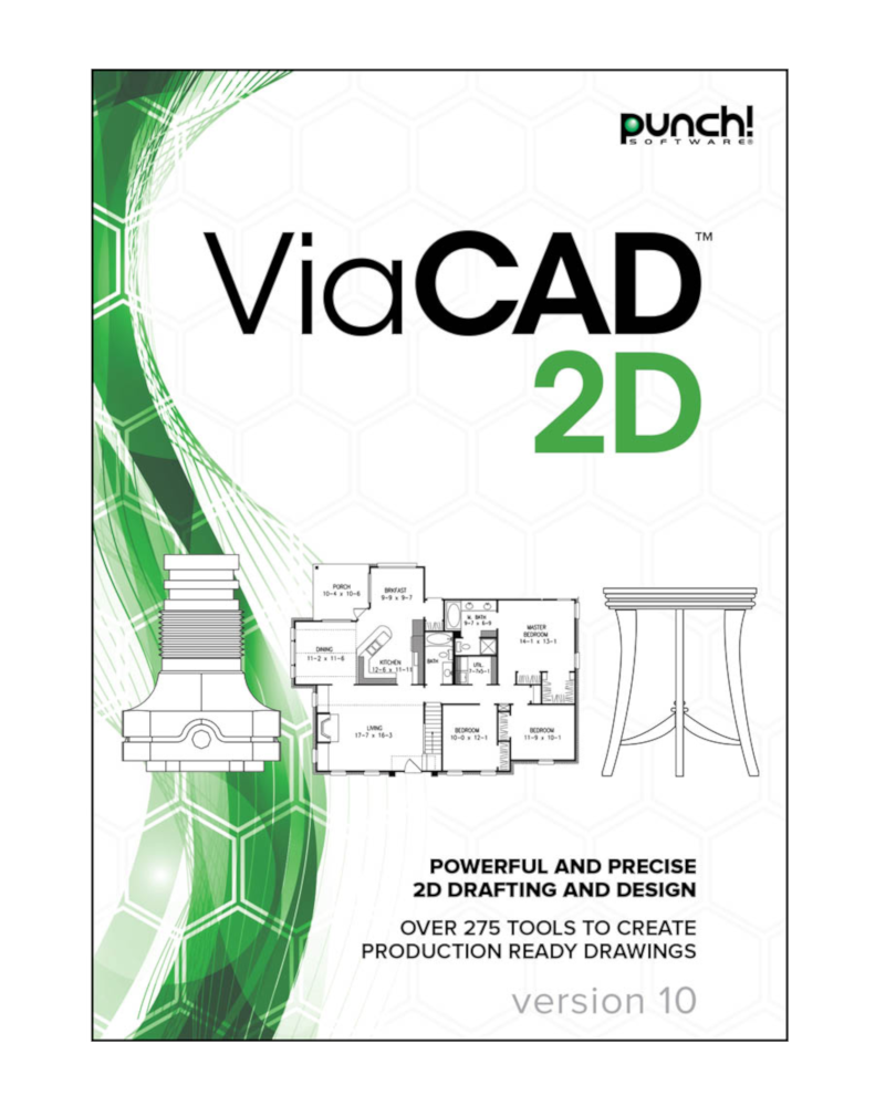 ViaCAD 2D v10