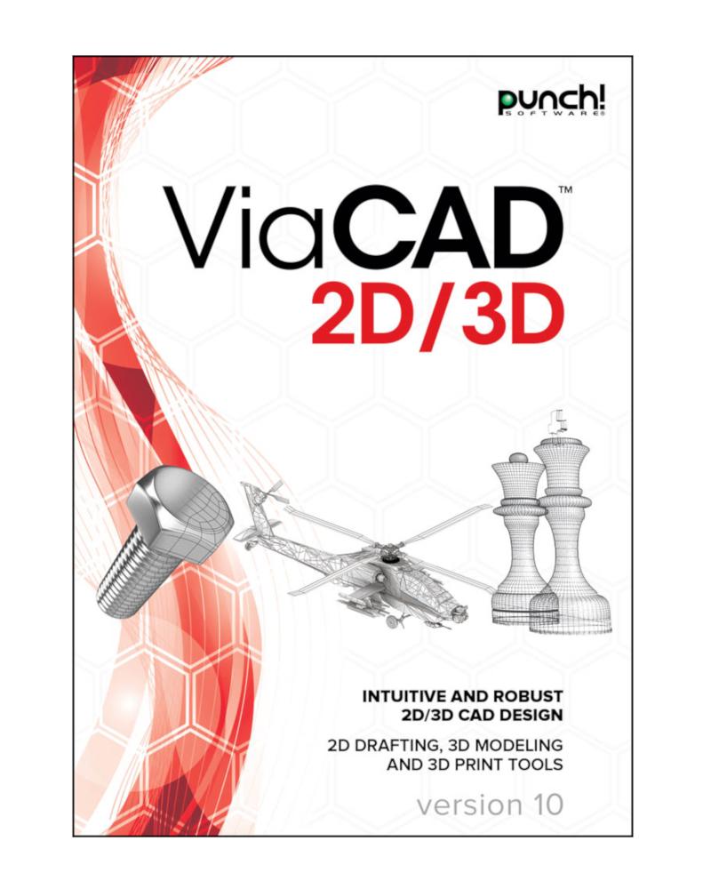 ViaCAD 2D/3D v10 - Upgrade